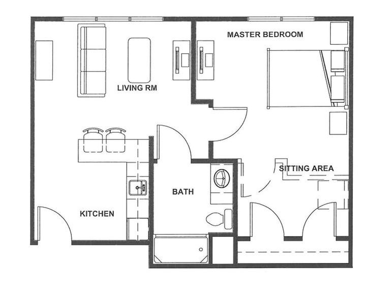 Homestead Apartment Floor Plan