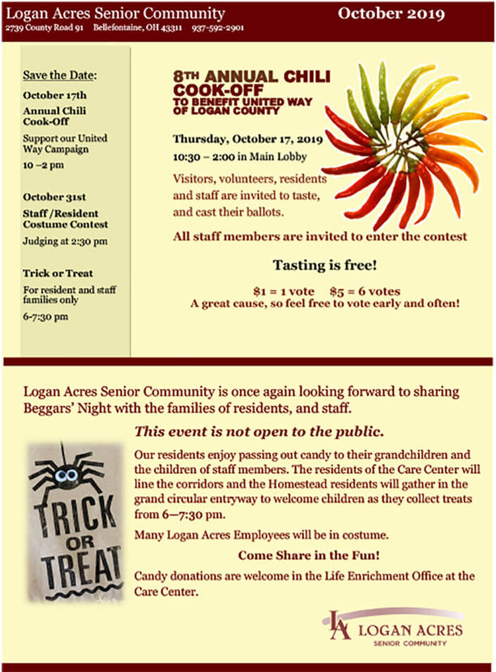 Logan Acres Newsletter